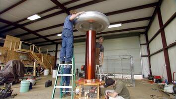 Giant Tesla Coil