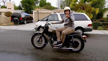 Baby vs Bike!