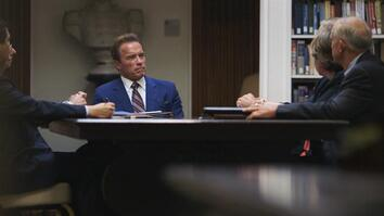 Arnold Schwarzenegger Meets with Military Leaders