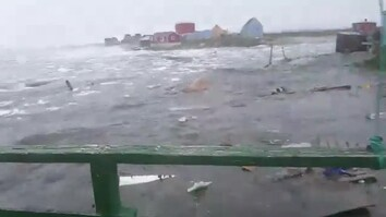 Watch: Deadly Tsunami Hits Greenland