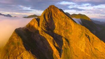 Drone Captures the Haunting Beauty of Northern Norway's Mountains