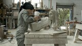 Watch a Masterpiece Emerge from a Solid Block of Stone