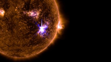 Watch the Sun Blast Out the Biggest Solar Flare in a Decade