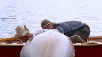 Cowboy in a Boat