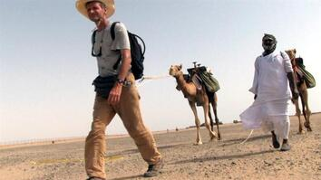 World-Walking Explorer Crosses Saudi Arabia's Hejaz