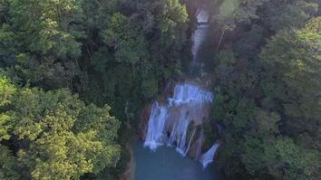 Waterfall in Chiapas