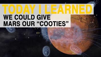 "TIL: We Could Give Mars Our ""Cooties"""