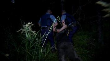Wailing Man Resists Arrest
