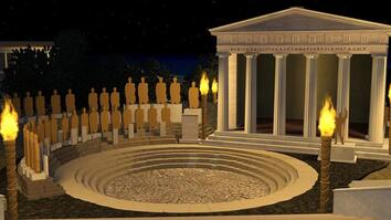 Virtual Tour: Explore the Temples of an Ancient Greek Cult