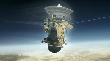 Why Is the Cassini Probe on a Collision Course with Saturn?