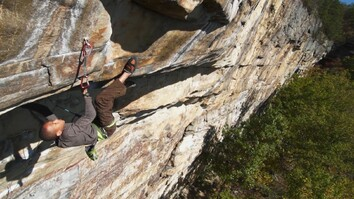 This Rock Climbing Kid Has a Hidden Strength: His Super Mom
