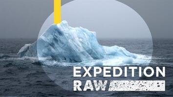 Close Call: Flipping Iceberg Nearly Crushes Explorers
