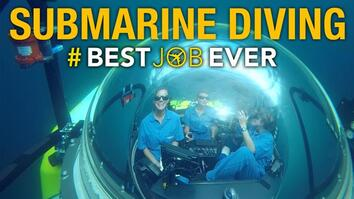 Submarine Diving in Deep-Sea Galápagos