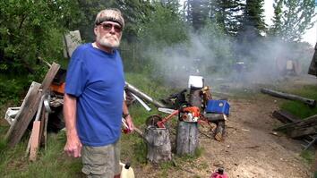 Antique Artillery In Alaska