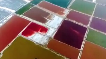 Watch: China's 'Dead Sea' Tranforms Into Rainbow - Here's Why