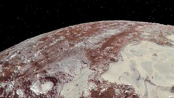 Stunning New Space Animations: Soar Over Pluto and Its Moon