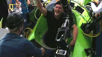 James Cameron Breaks Solo Dive Record