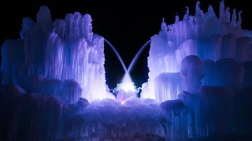 Ice Castle Closes Due to Utah's Warm Winter