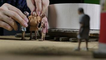 Nat Geo's Stop-Motion Team Animates History