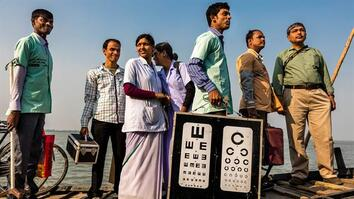 Helping the Blind to See in India's Hard-to-Reach Villages