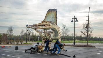 A Behind-the-Scenes Look at Assembling Spinosaurus