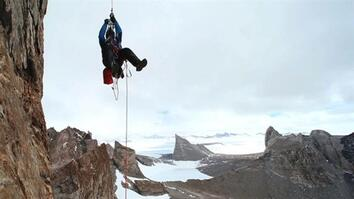 Climbing Antarctica's Unexplored Mountains