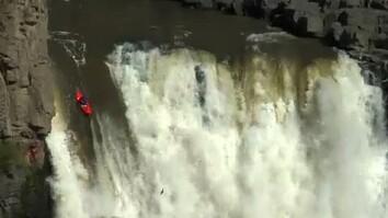Kayak Waterfall Record
