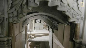 EXCLUSIVE: A Closer Look Inside Christ's Unsealed Tomb