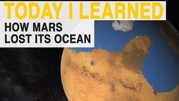 TIL: Why Mars' Ocean Disappeared