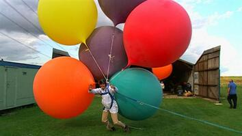 I Didn't Know That: Lifting a Man With Helium Balloons?