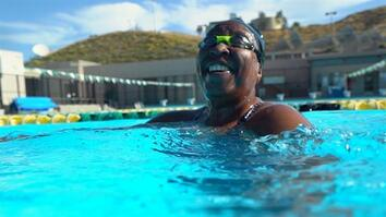 See Why Jumping in a Pool Saved This Blind Woman's Life