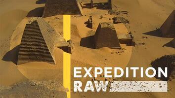 Amazing Drone Footage of Nubian Pyramids