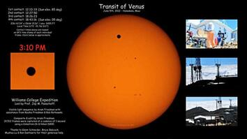 2012 Transit of Venus: Expedition and Time Lapse