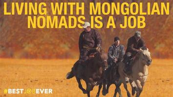 Living With Mongolian Nomads