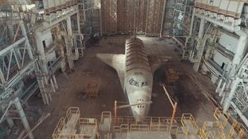 Why Were These Space Shuttles Abandoned in the Desert?