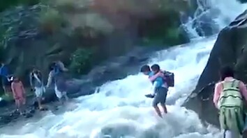 To Get To School, These Kids Must Cross a Deadly River