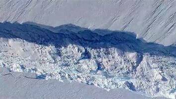 Scientists Witness Birth of NYC-Sized Iceberg