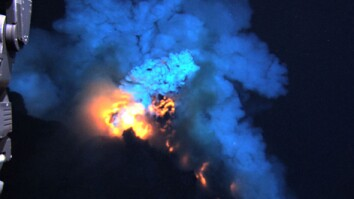Deepest Ocean Eruption Filmed