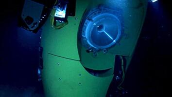'Cameron Dive is an Exploration First' from the web at 'http://cdn.video.nationalgeographic.com/dims4/default/caa636c/2147483647/thumbnail/354x199%3E/quality/90/?url=http%3a%2F%2Fpmdvod.nationalgeographic.com%2FNG_Video%2F986%2F87%2F50370_1_1280x720_640x360_177567811704.jpg'