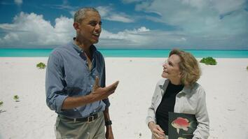 President Obama on Deep-Sea Diving and One Unimpressed Seal (Exclusive)