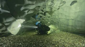 The Danger and Excitement of Underwater Cave Diving