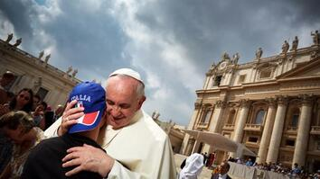 What's It Like to Photograph the Pope?