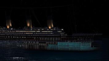 Titanic Sinking CGI