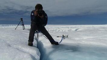 """Chasing Ice"" Photographer Talks Melting Glaciers"