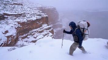 Epic Grand Canyon Hike: Frozen Shoes and Low on Food (Part 2)