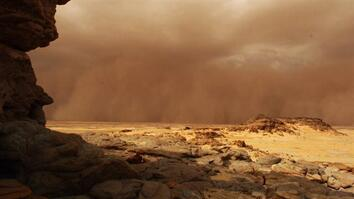 Mega Dust Storms