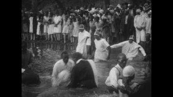 Rare Footage: Hundreds Gather at a 1920s African-American Baptism