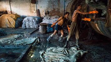 The Ganges: Inside an Indian Tannery