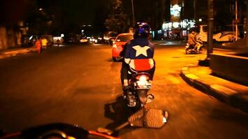Onward: Beautiful Nighttime Motorcycle Ride Through Jakarta