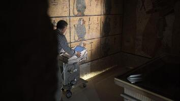 King Tut Tomb Scans Support Theory of Hidden Chamber